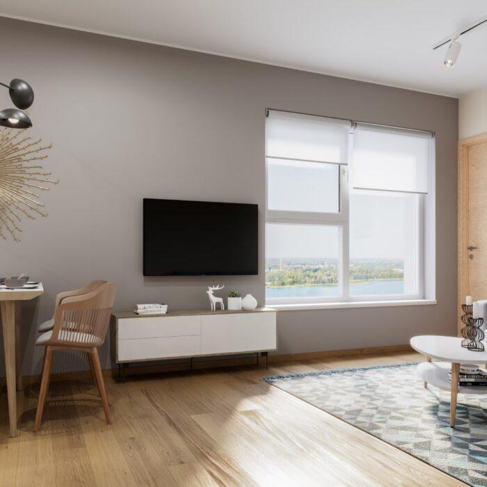 Elutoa siseviimistluspakett Natura 13. korruse korteril